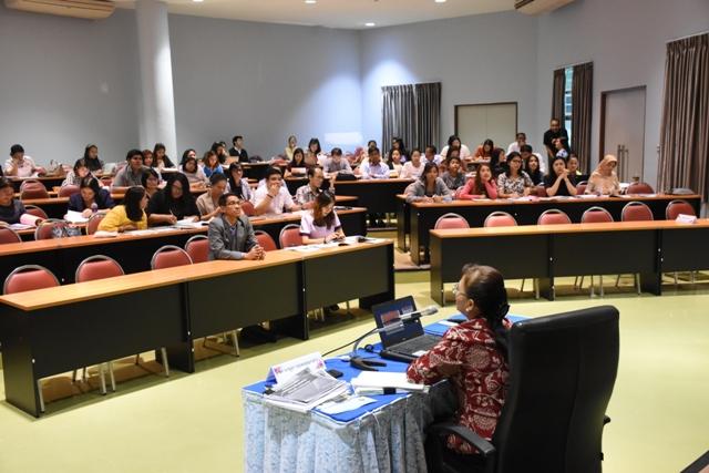 โครงการเตรียมความพร้อมประกันคุณภาพหลักสูตร ปีการศึกษา 2560